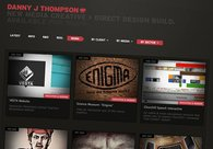 A great web design by D J Thompson, Vancouver, Canada:
