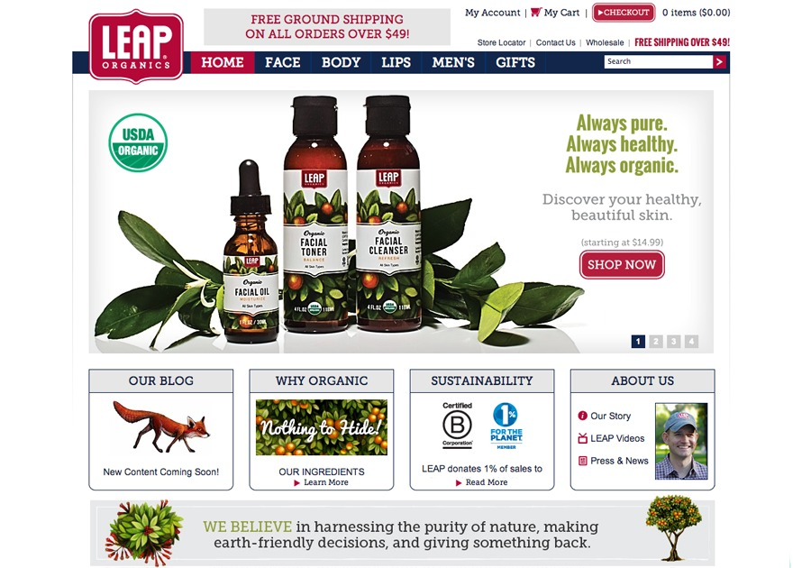 A great web design by Wicked Cool Studios, Tulsa, OK: Website, E-Commerce , Health & Beauty , Magento
