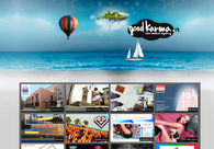 A great web design by Good Karma, Santa Barbara, CA: