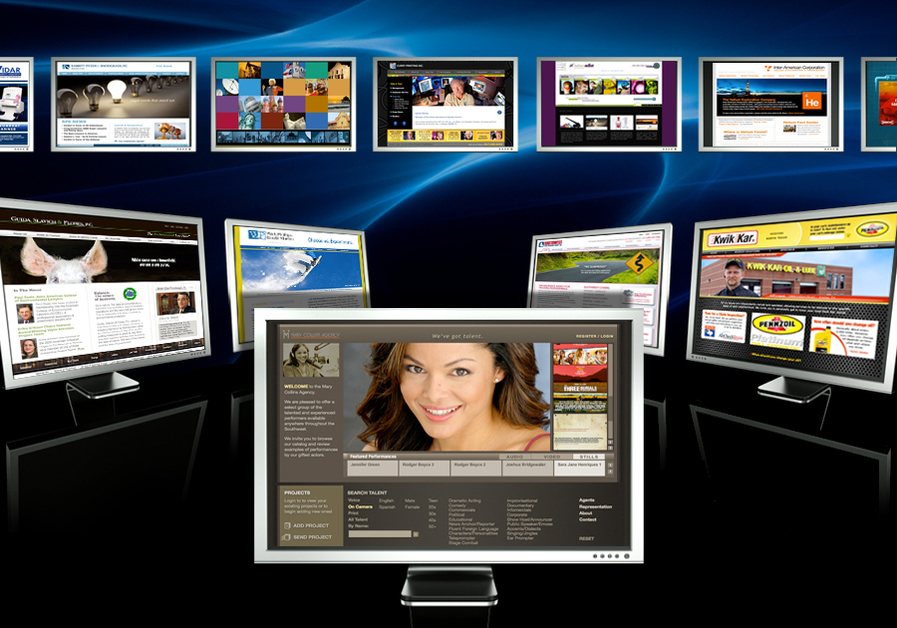 A great web design by Holmes Millet Advertising, Inc., Dallas, TX: