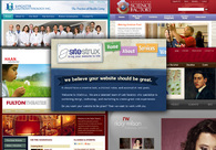A great web design by SiteStrux, Inc., Lancaster, PA: