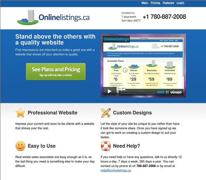 A great web design by Greenstem, Edmonton, Canada: