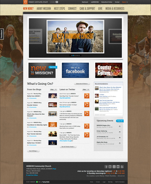 A great web design by Tipping Media, LLC., Phoenix, AZ: