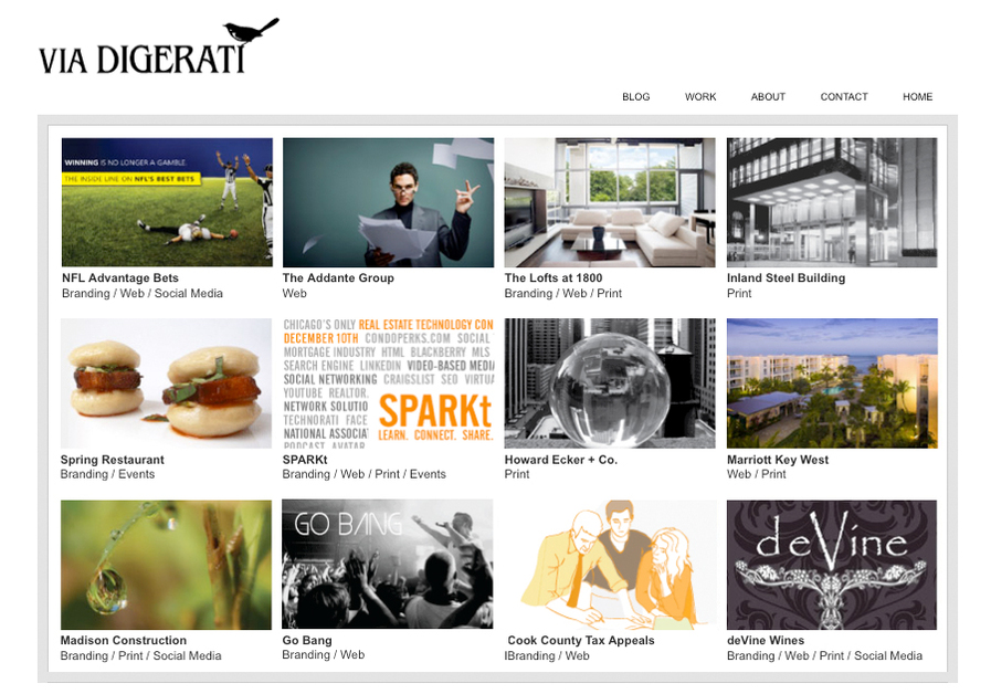 A great web design by Via Digerati, Chicago, IL: