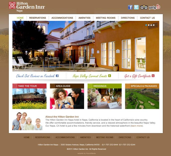 A great web design by KnockMedia, New York, NY: