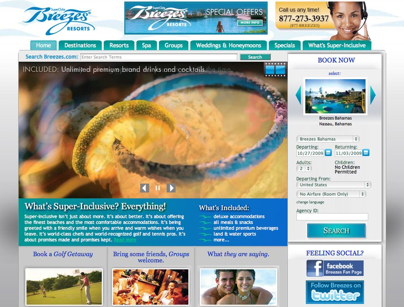 A great web design by Tinsley Advertising, Miami, FL:
