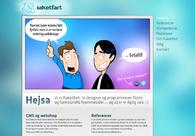 A great web design by Raketfart, Kolding, Denmark: