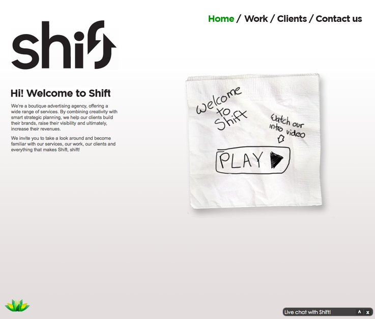 A great web design by Shift Communications, Ottawa Ontario, Canada: