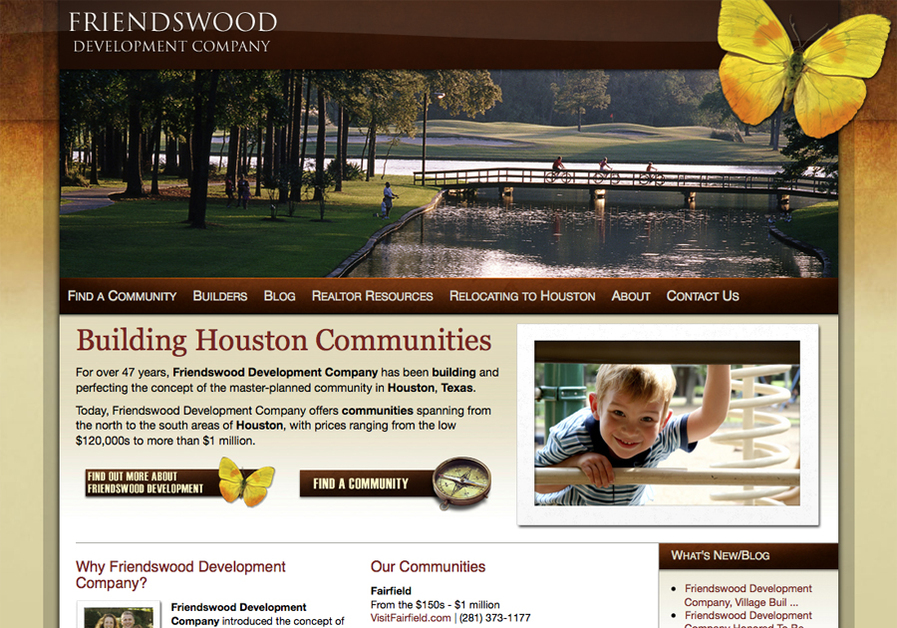 A great web design by Poetic Systems, Houston, TX: