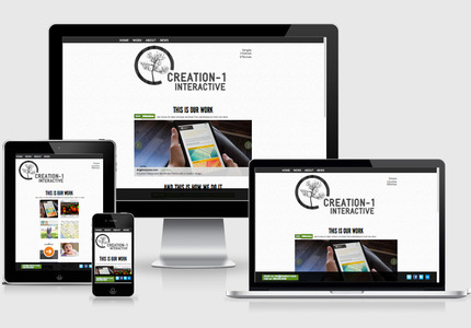 A great web design by Creation-1 Interactive, Seattle, WA: