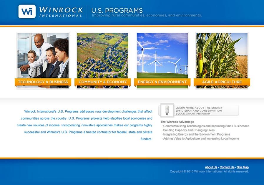 A great web design by Neutral Blue, Little Rock, AR: