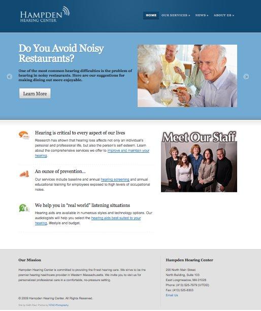 A great web design by Keith Paul, Boston, MA: