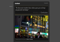 A great web design by kmpstr, London, United Kingdom: