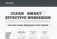A great web design by Jeroen Homan, Utrecht, Netherlands: