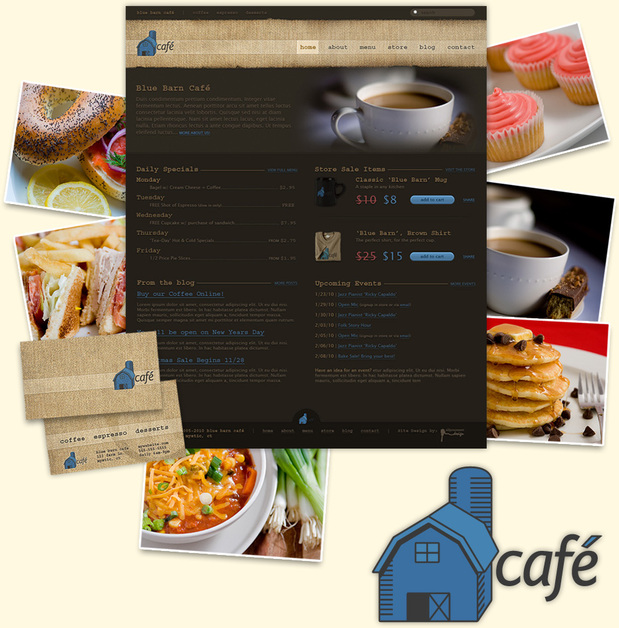 A great web design by All You Can Eat Design, Boston, MA: