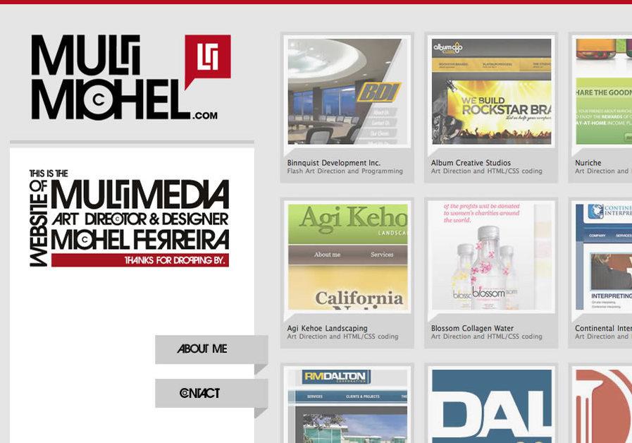 A great web design by MultiMichel, Orange County, CA: