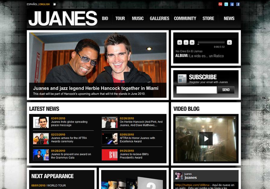 A great web design by NDV Agency, Miami, FL: