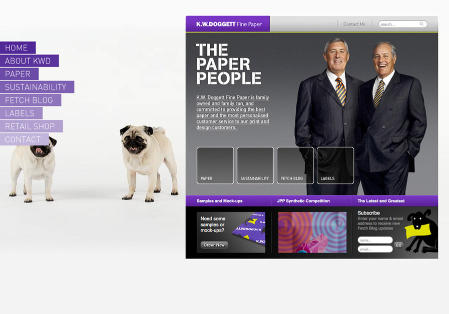 A great web design by twenty4, Melbourne, Australia: