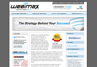 A great web design by WebiMax.com, New York, NY:
