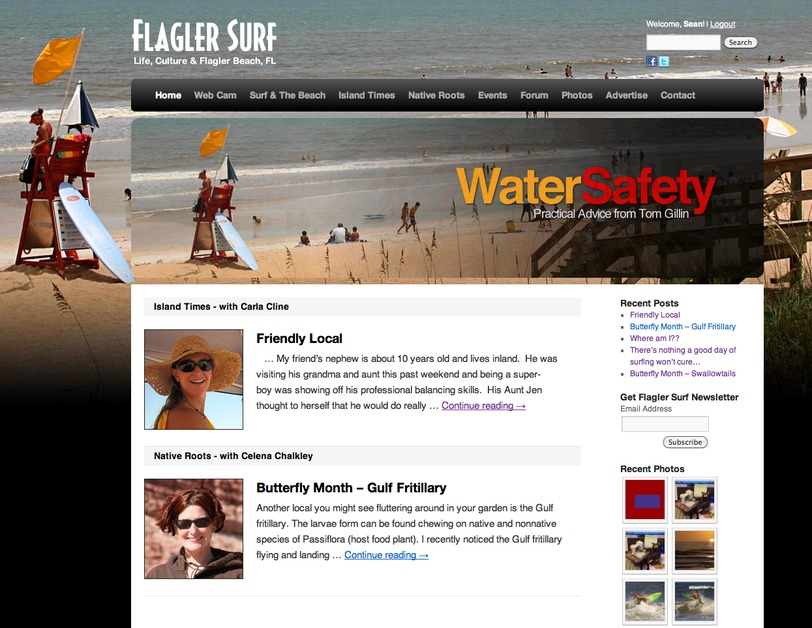 A great web design by Helio Creative, Daytona Beach, FL: