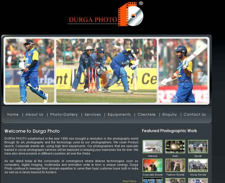 A great web design by One Solutions, New Delhi, India: