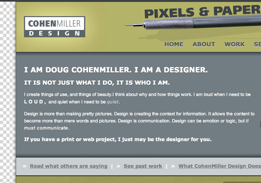 A great web design by CohenMiller Design, San Antonio, TX: