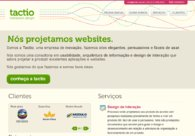 A great web design by Tactio Interaction Design, Rio de Janeiro, Brazil: