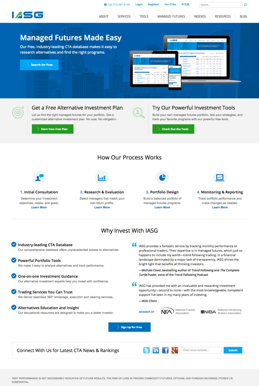 A great web design by cre8, LLC, Chicago, IL: Responsive Website, Financial Services , ASP.NET