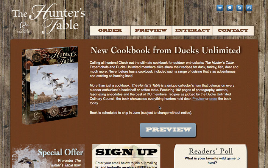 A great web design by Two Doors Creative, Nashville, TN: