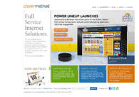 A great web design by clevermethod, Buffalo, NY: