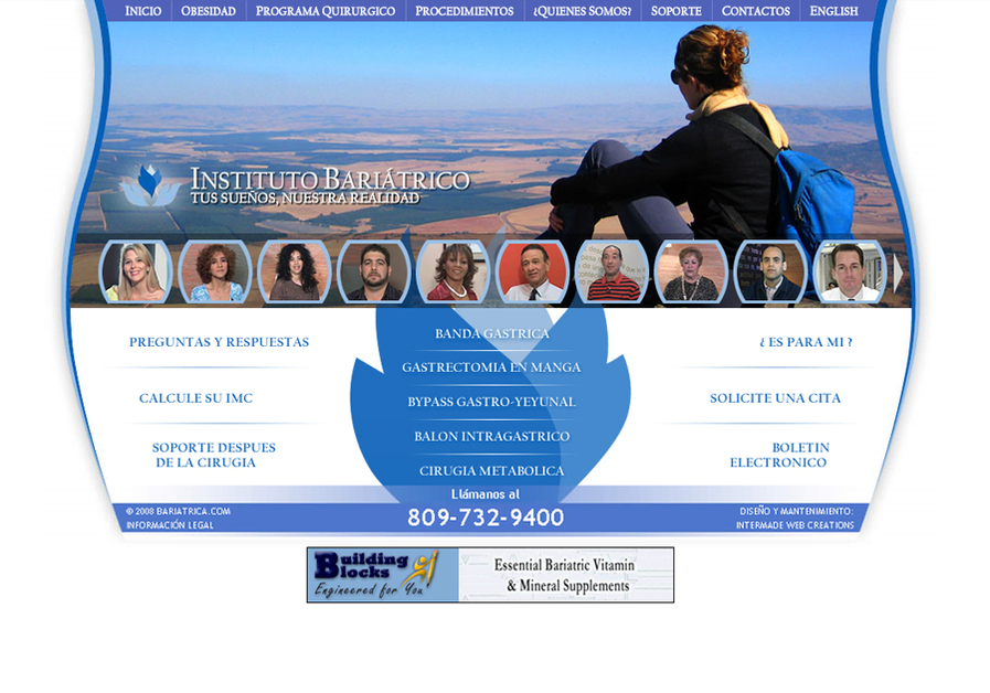 A great web design by Intermade Web Creations, Santo Domingo, Dominican Republic: