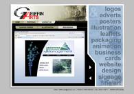 A great web design by GRIFFIN ARTS, London, United Kingdom: