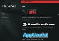 A great web design by RebelVC, Austin, TX: