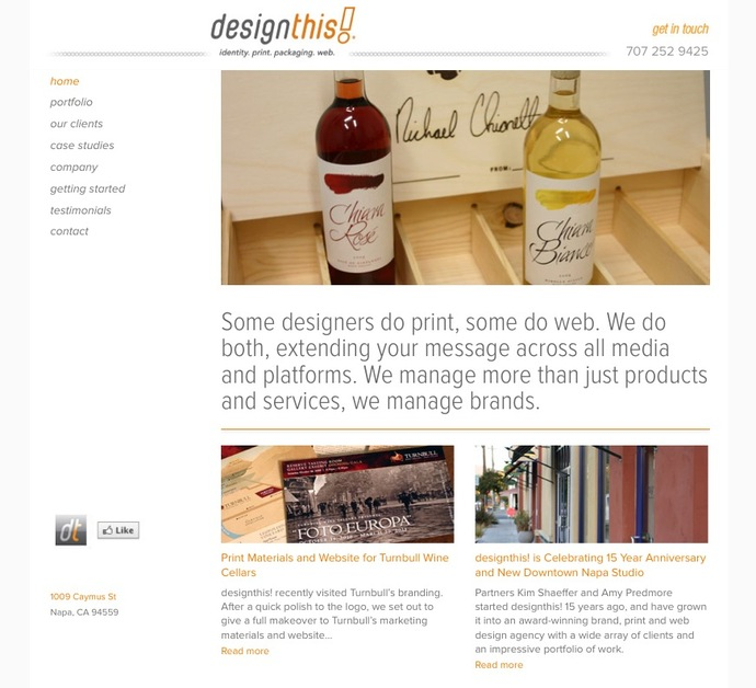 A great web design by designthis!, San Francisco, CA: