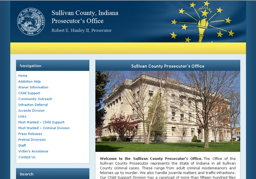 A great web design by New Deal Multimedia LLC, Bloomington, IN: