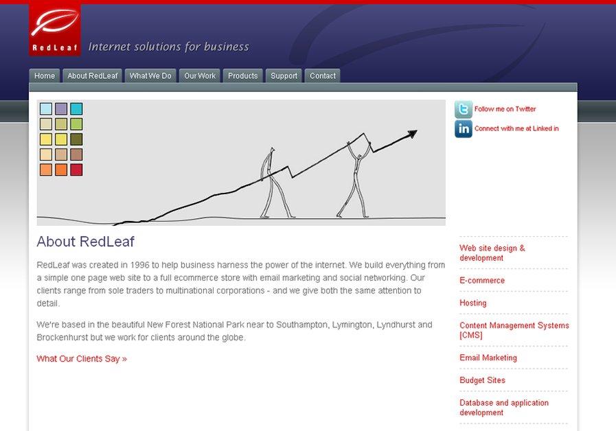 A great web design by RedLeaf, London, United Kingdom: