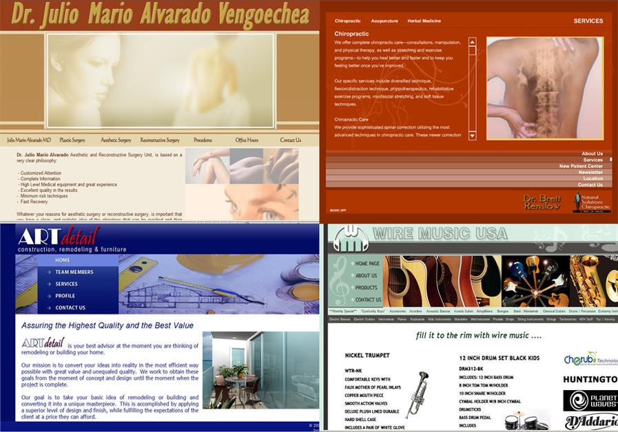 A great web design by PBR Designs, Fort Lauderdale, FL: