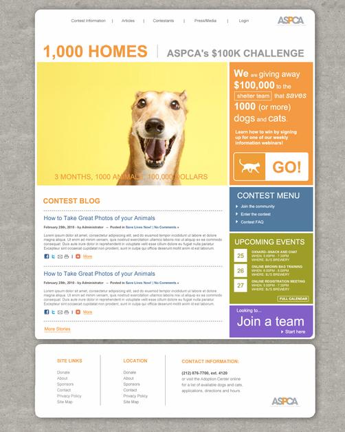 A great web design by Kim Karston, Los Angeles, CA: