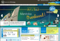 A great web design by Visual Lizard, Winnipeg, Canada: