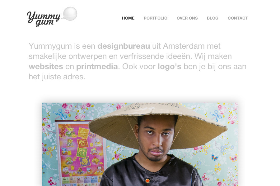 A great web design by Yummygum, Amsterdam, Netherlands: