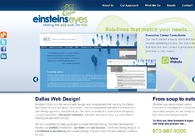 A great web design by Einstein's Eyes, Dallas, TX:
