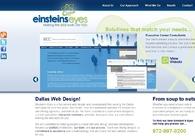 A great web design by Einstein's Eyes, Dallas, TX: