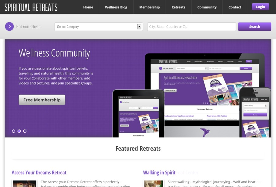 A great web design by Roberts Web Design, Houston, TX: Responsive Website, Social/Community , Travel , Joomla