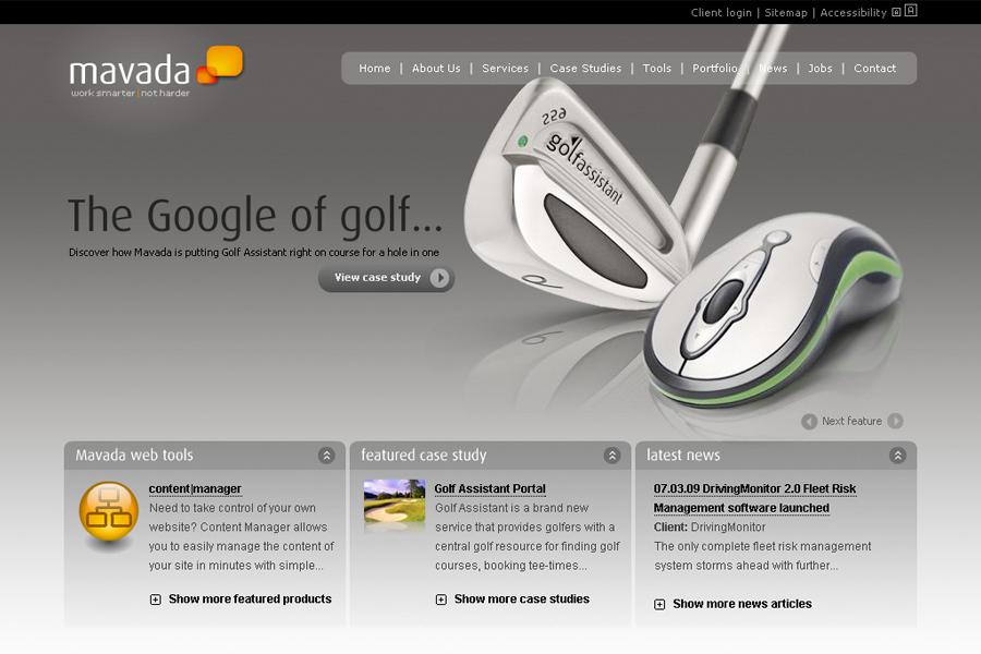 A great web design by Mavada Ltd, Chester, United Kingdom: