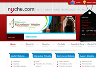 A great web design by nyche software solutions, Edmonton, Canada: