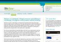 A great web design by Bitclone LLC, Portland, OR: