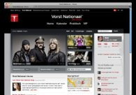 A great web design by Netlash, Gent, Belgium:
