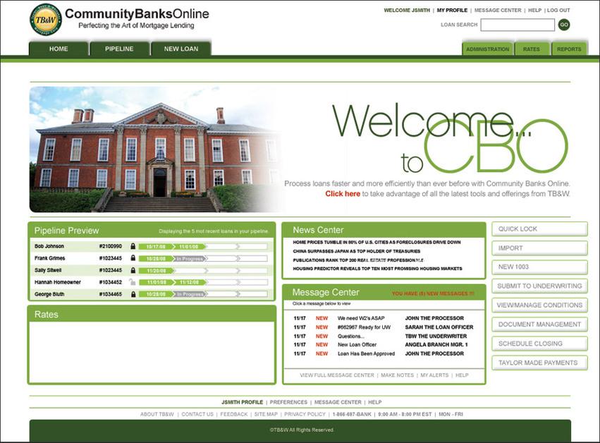 A great web design by JOY, Savannah, GA: