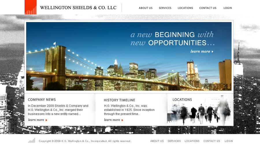 A great web design by Airlevel1 LLC, New York, NY: