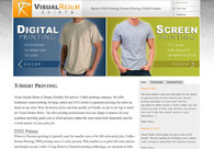 A great web design by Visual Realm, Tampa, FL: